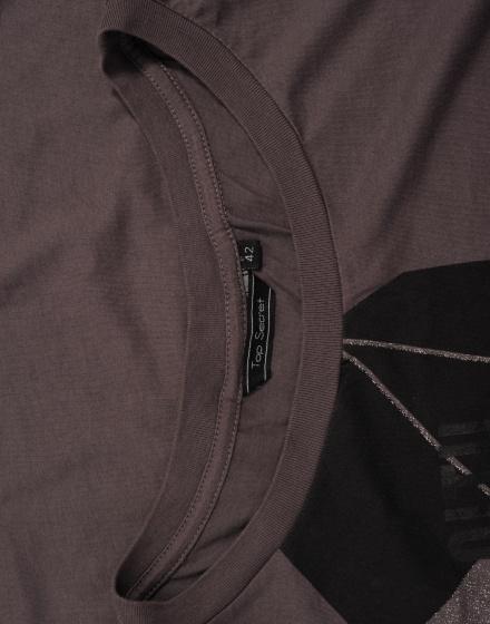 1eff385799f Дамска блуза с къс ръкав Top Secret - Ценопад - дрехи втора употреба ...