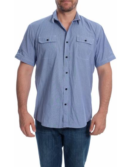 Мъжка риза с къс ръкав Quatre Saisons