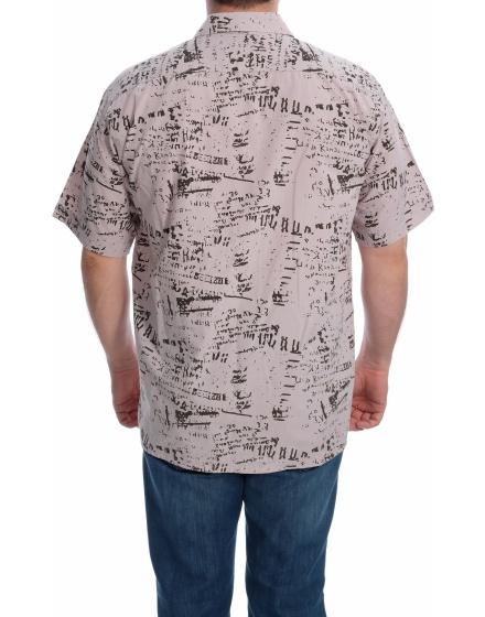 Мъжка риза с къс ръкав Gentry