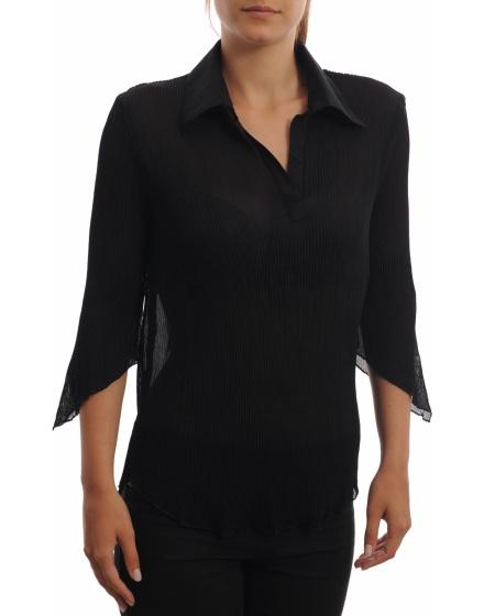 Дамска риза с къс ръкав J&D