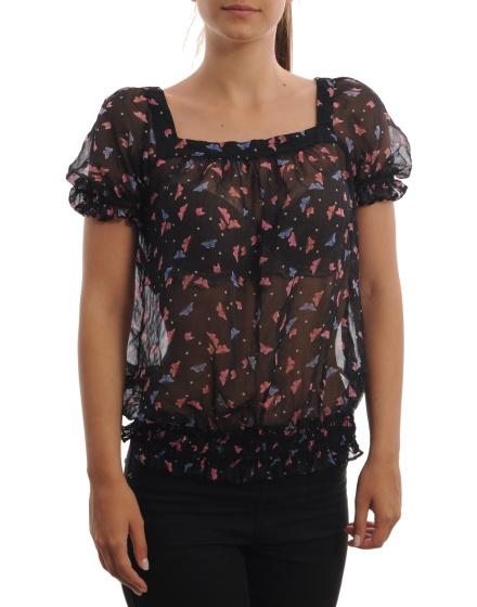 Дамска блуза с къс ръкав Be Beau
