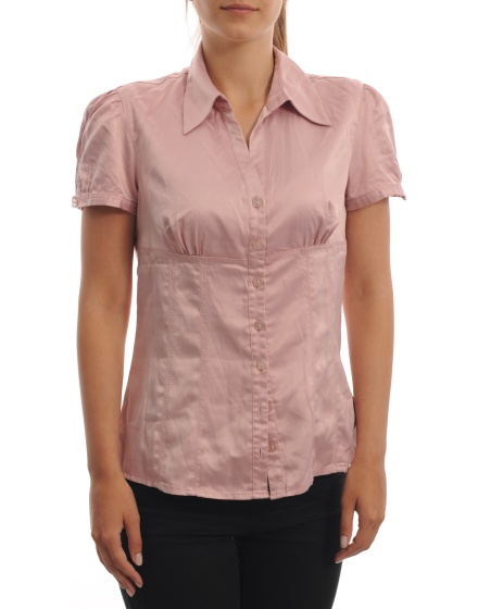 Дамска риза с къс ръкав Promod