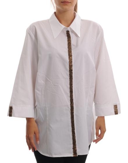 Дамска риза с къс ръкав CH!CC