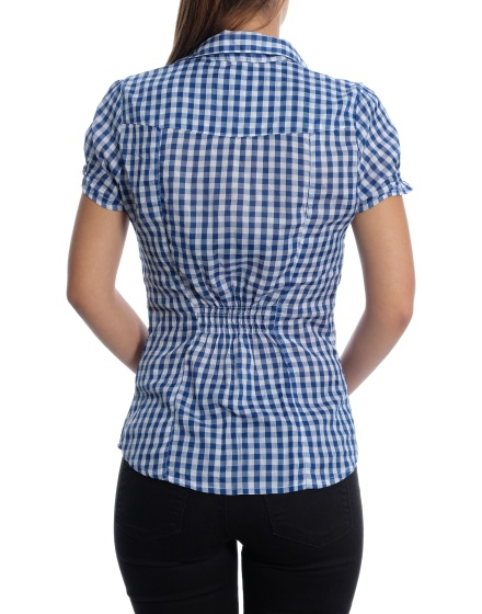 Дамска риза с къс ръкав H&M