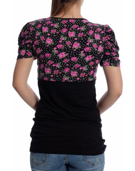 Дамска блуза с къс ръкав Klass