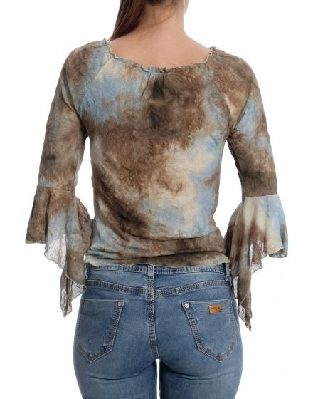 Дамска блуза с къс ръкав Sa Me Plait