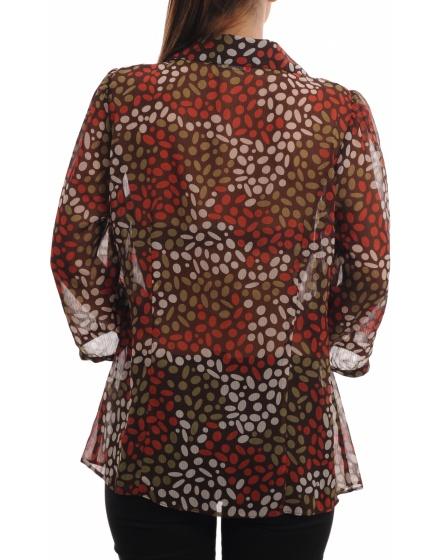 Дамска риза с къс ръкав Essence By Evans