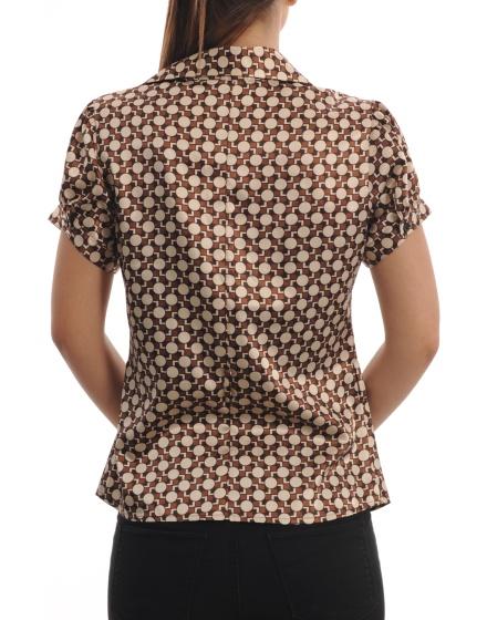 Дамска риза с къс ръкав Margo
