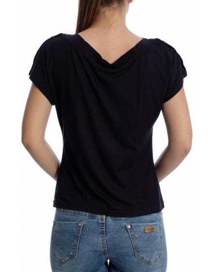 Дамска блуза с къс ръкав Angie