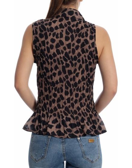 Дамска риза с къс ръкав Marks & Spencer