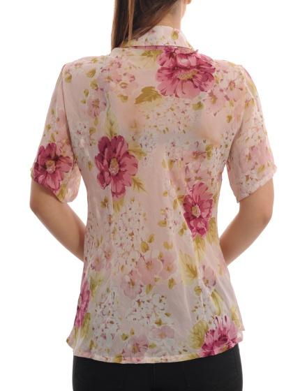 Дамска риза с къс ръкав Per Una by Marks & Spenser