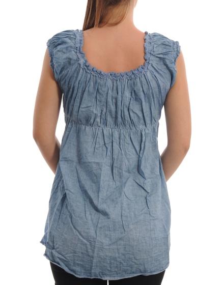 Дамска блуза с къс ръкав Made In Italy