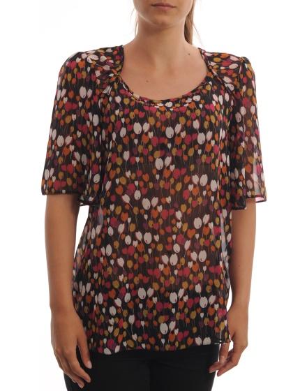 Дамска блуза с къс ръкав F&F