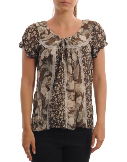 Дамска блуза с къс ръкав Morgan