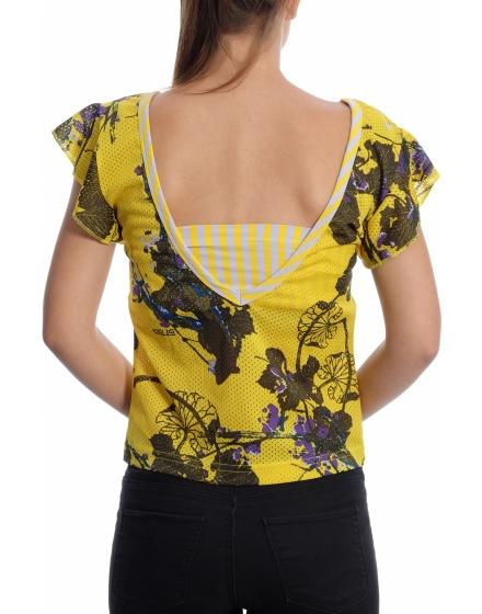 Дамска блуза с къс ръкав Gsus Sindustries