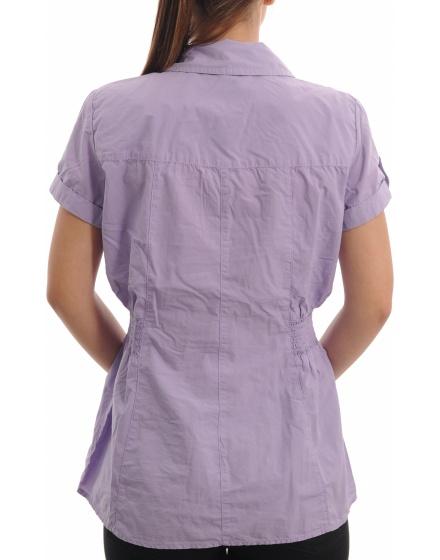 Дамска риза с къс ръкав EDC by ESPRIT