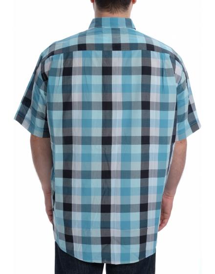 Мъжка риза с къс ръкав Casa Moda