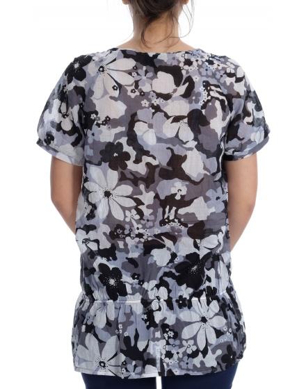 Дамска блуза с къс ръкав Viventy by BerndBerger