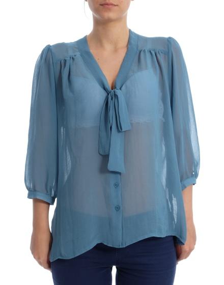 Дамска риза с къс ръкав F&F