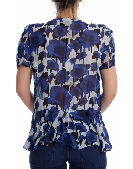 Дамска риза с къс ръкав Topshop