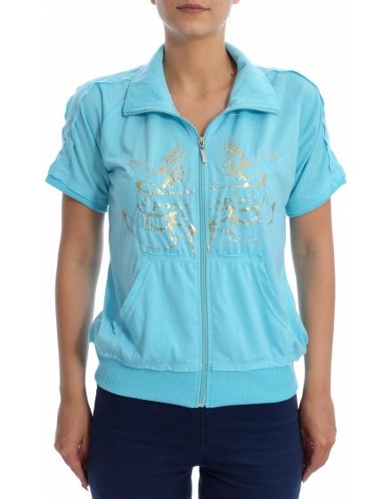 Дамска блуза с къс ръкав APLX