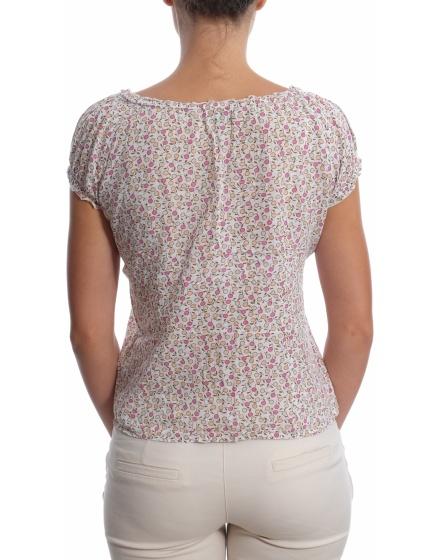 Дамска блуза с къс ръкав Green Point