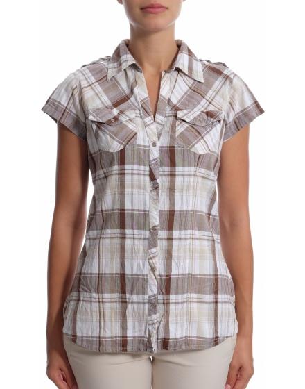 Дамска риза с къс ръкав Bay