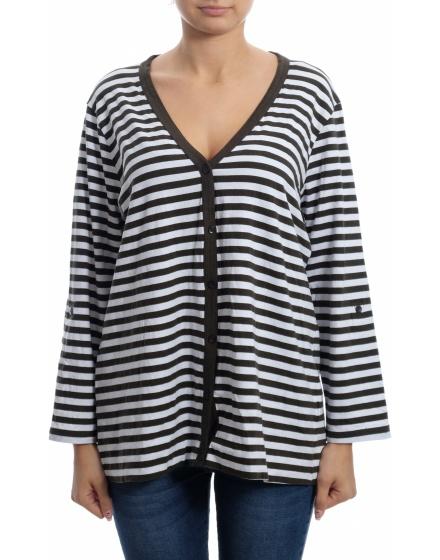Дамска блуза с къс ръкав Via Appia