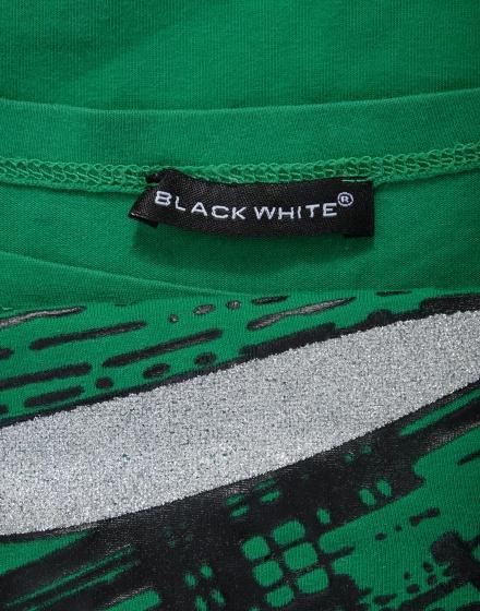 Дамска тениска Black White