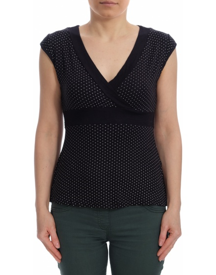 Дамска блуза с къс ръкав New Look