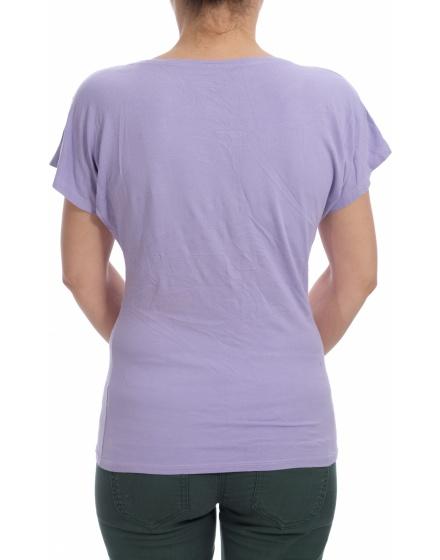 Дамска блуза с къс ръкав Missmai