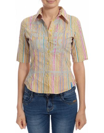 Дамска риза с къс ръкав Reporter