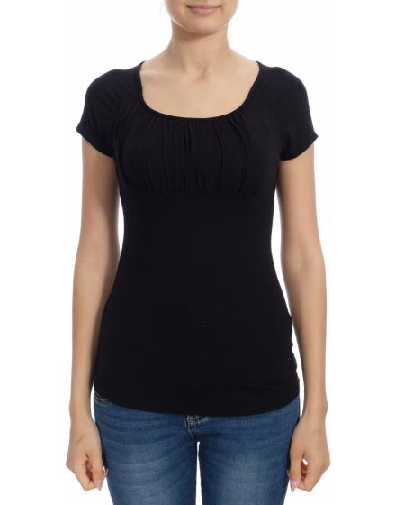 Дамска блуза с къс ръкав OXYD