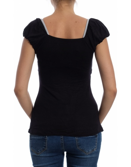 Дамска блуза с къс ръкав Online