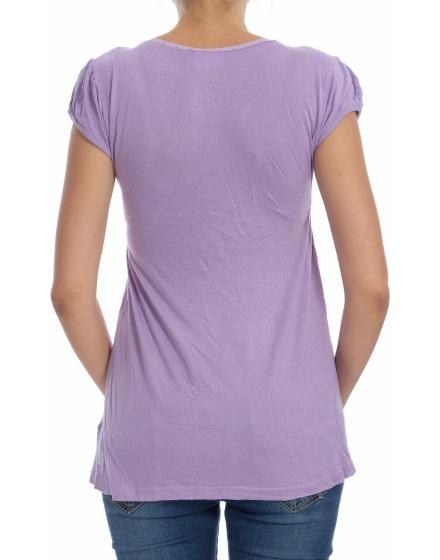 Дамска блуза с къс ръкав YIGGA