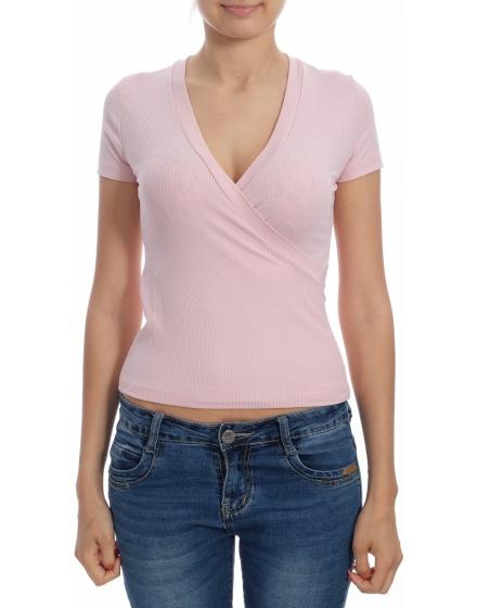 Дамска блуза с къс ръкав The Code