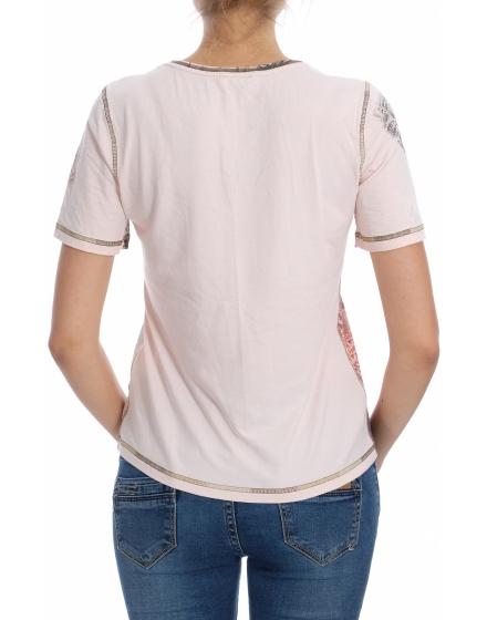 Дамска блуза с къс ръкав Bonita