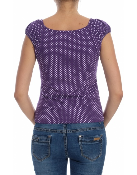 Дамска блуза с къс ръкав Colours Of The World
