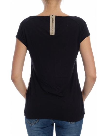 Дамска блуза с къс ръкав Pin Up