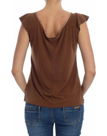 Дамска блуза с къс ръкав Nelly