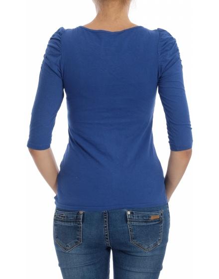 Дамска блуза с къс ръкав Fishbone