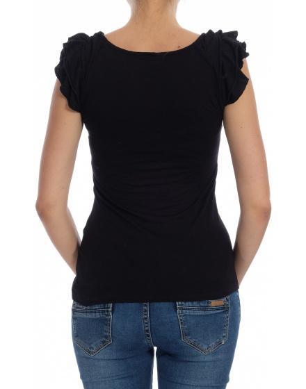 Дамска блуза с къс ръкав Amisu