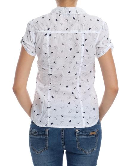 Дамска риза с къс ръкав Yessica