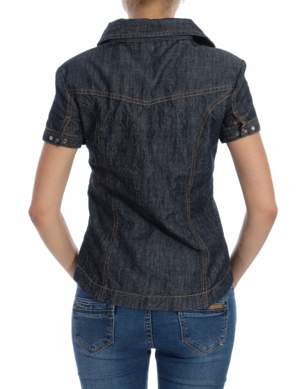 Дамска риза с къс ръкав Sublevel
