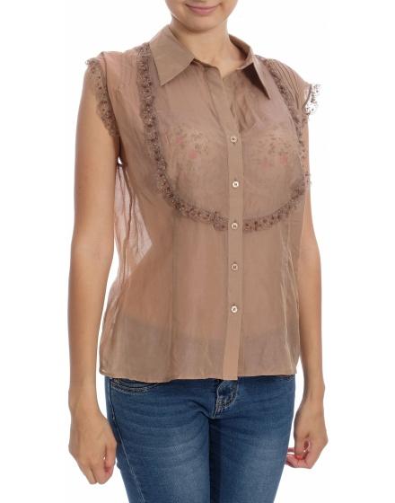 Дамска риза с къс ръкав Bobo Zander