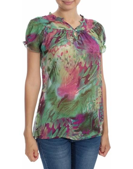 Дамска блуза с къс ръкав Yifan & Alessia