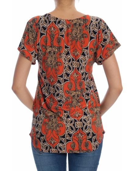 Дамска блуза с къс ръкав Atmosphere