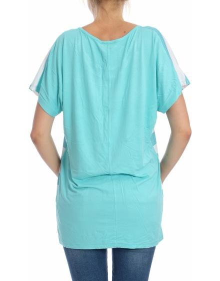Дамска блуза с къс ръкав Awsarre