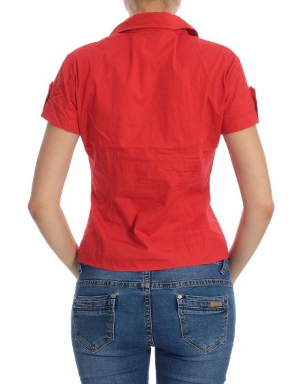 Дамска риза с къс ръкав On n'est pass des anges