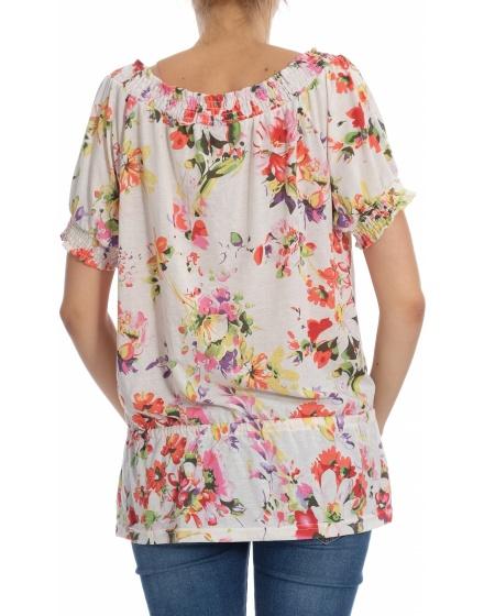 Дамска блуза с къс ръкав G!na